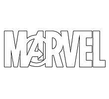 Marvel Avengers Logo Photographic Print