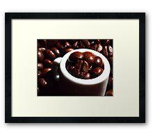 Giant's Beans Framed Print