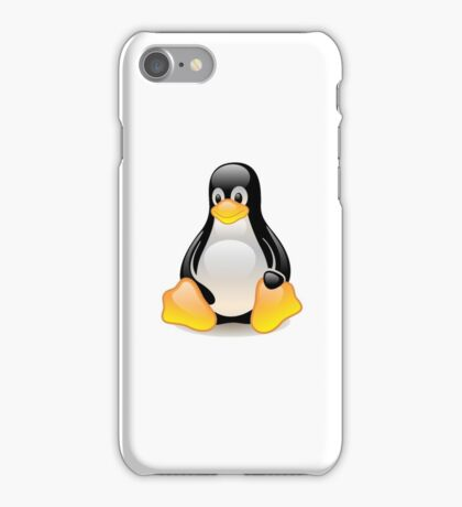 Penguin Linux Tux Crystal iPhone Case/Skin