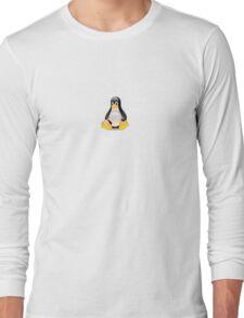 Penguin Linux Tux Crystal Long Sleeve T-Shirt