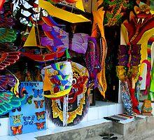 Kite Shop, Ubud, Bali by JonathaninBali