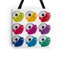 Multi colored crushed cans Tote Bag