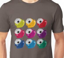 Multi colored crushed cans Unisex T-Shirt