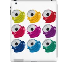 Multi colored crushed cans iPad Case/Skin