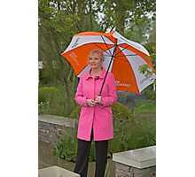 Carol Kirkwood BBC weather girl Photographic Print