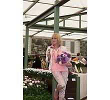 Joanna Lumley Photographic Print