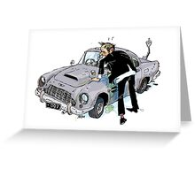 James Bond, 00(blorp) Greeting Card
