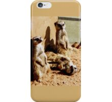 Meerkat Togetherness iPhone Case/Skin