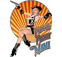 Pistol Packin' Mama (sweet) Photographic Print