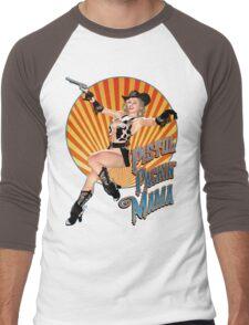 Pistol Packin' Mama (sweet) Men's Baseball ¾ T-Shirt