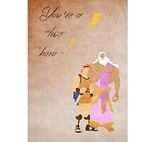 Hercules inspired Father's Day design. Photographic Print