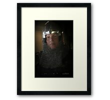 The Owner Of The Sword Framed Print