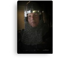 The Owner Of The Sword Canvas Print