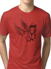 Super Woman Tri-blend T-Shirt