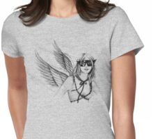 Super Woman Womens Fitted T-Shirt