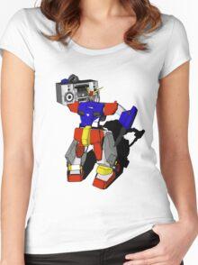 Music Machine  Women's Fitted Scoop T-Shirt