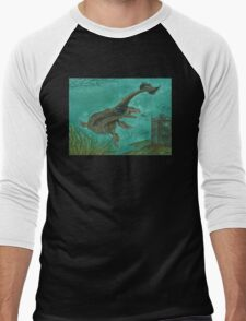 Nessie Men's Baseball ¾ T-Shirt