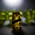 Gummy Bear Photography - Labels Are For Cans, Not For People (or gummy bears) by michalfanta