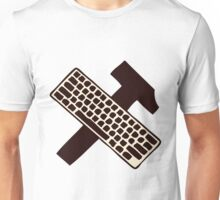 hammer and keyboard Unisex T-Shirt