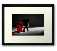 """Gummy Bear Photography - """"I didn't know what I was doing until I was done.""""  Framed Print"""
