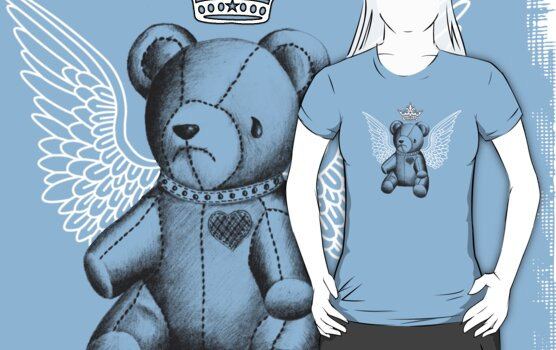 DeadbeaR Tee - Drawing by Vivian Lau