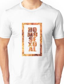 Flaming Homosexual Unisex T-Shirt
