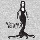Vampira Tee (New Version) by Chloe van Leeuwen