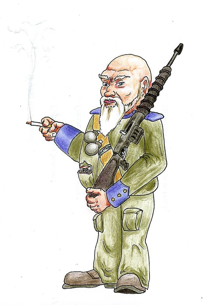 Dwarf Guard by Edzie