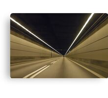 Speed perspective Canvas Print