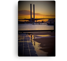 Bolte Brige Reflection Canvas Print