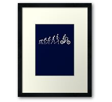 Evolution BMX Framed Print
