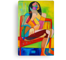 Sitting In The Sun Canvas Print