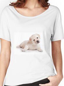labrador retriever puppy Women's Relaxed Fit T-Shirt
