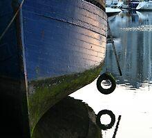 Sunset on a once valued vessel  by Anna Goodchild