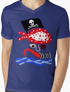 PIRATE BOLD GRAPHIC KIDS COLLECTION Mens V-Neck T-Shirt