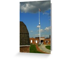 An American Fort ~ Part Three Greeting Card