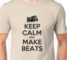 Keep Calm, Make Beats Unisex T-Shirt