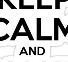 Keep Calm, Make Beats Sticker