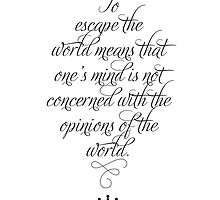 The Opinions of the World by Zenology Arts