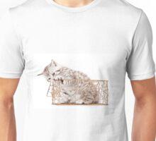 Funny striped kitten Unisex T-Shirt