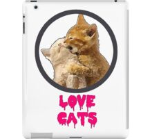 Love Cats iPad Case/Skin
