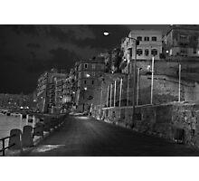 Hand-Held Mono Night shot Photographic Print