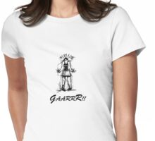 GaarrR - Angry Girl Womens Fitted T-Shirt