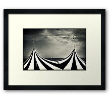 Circus with distant ships Framed Print