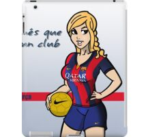 FC Barcelona Girl iPad Case/Skin