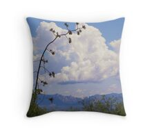 Distant View Throw Pillow