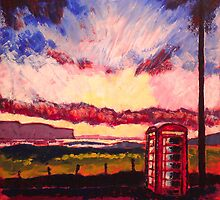 Oskamull Phone Box by Martin Williamson (©cobbybrook)