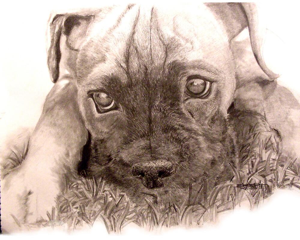 Precious Little Puppy by ejosephdesign