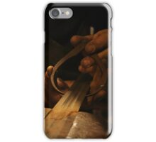 The Making of Medieval Sword In Progress iPhone Case/Skin