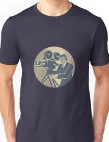 Cameraman Moviemaker Vintage Camera Retro Unisex T-Shirt